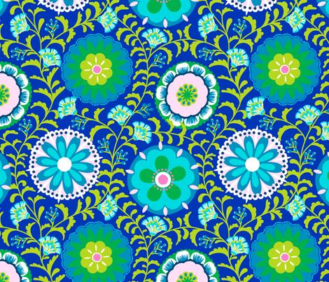 Folk Art Medallions fabric by shellypenko on Spoonflower - custom fabric