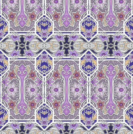 Gone to London to Visit the Queen fabric by edsel2084 on Spoonflower - custom fabric