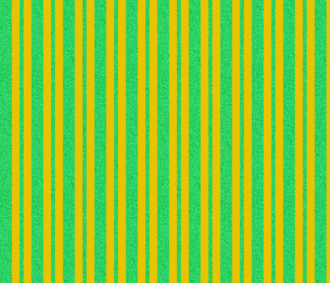 CD18 - Golden Butterscotch and Speckled Pastel Green  Stripe on Butterscotch fabric by maryyx on Spoonflower - custom fabric