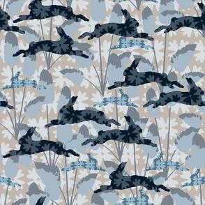 Bunnytails BlueGrey