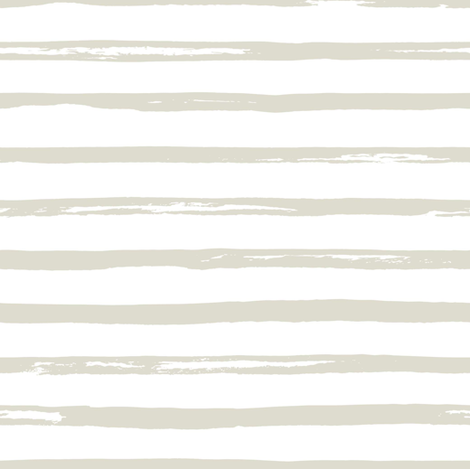 "8"" Noelle Ivory Stripes fabric by shopcabin on Spoonflower - custom fabric"