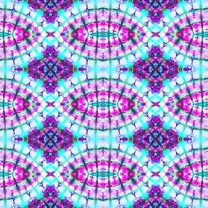Purple & Teal Eyelets