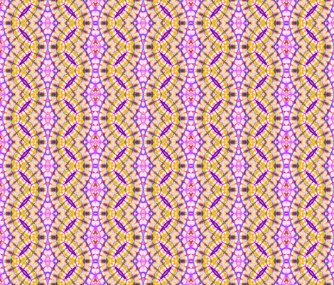 Golden Scalloped Ribbons fabric by just_meewowy_design on Spoonflower - custom fabric