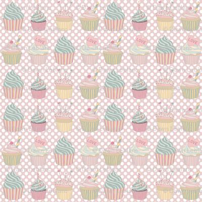 Charlie Cupcakes: Pink