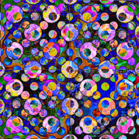 Circles Are The New Triangles - Ripples of  Circles fabric by dovetail_designs on Spoonflower - custom fabric