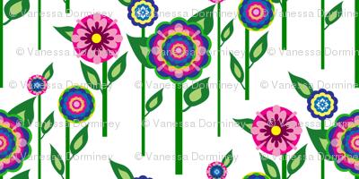 BC&TDS Folk Flowers on Stems
