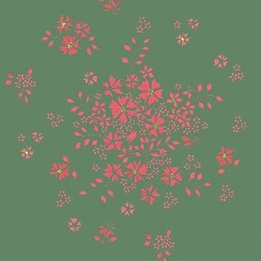 Flower - Pink in Japanese style