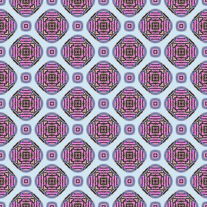 Pink Cage Encapsulated