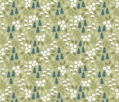 Pine Trees fabric by haleymccoydesign on Spoonflower - custom fabric