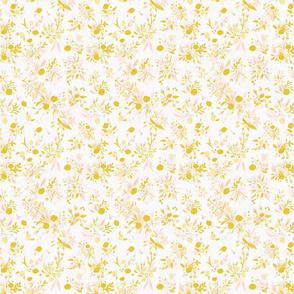 Vintage Garden- Yellow