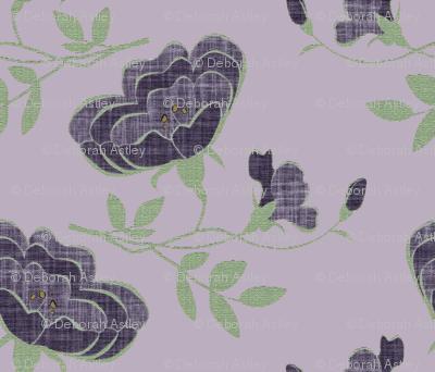 Lindy Floral 2 on #baaebf