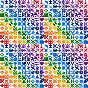 Rainbow AES 100 Blocks