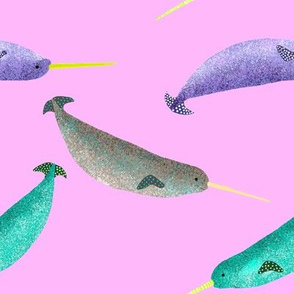 Narwhal pink