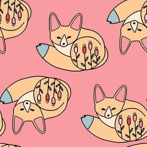 fennec fox pink