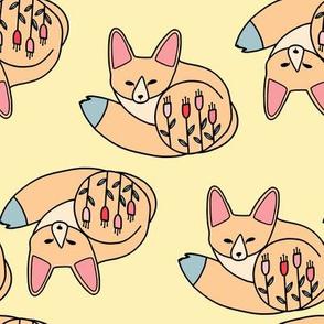 fennec fox yellow