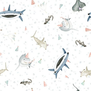 Shark Party: Party Sharks