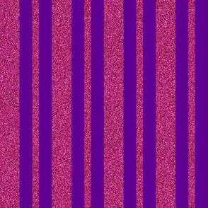 CD22 -Sparkly Raspberry and Purple Stripes