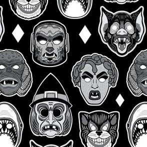 Halloween Mask Pattern