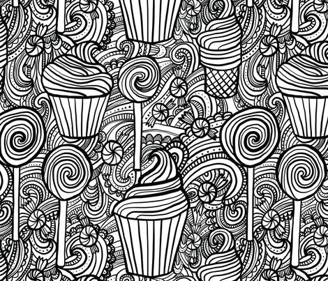 Sweet Treats fabric by robyriker on Spoonflower - custom fabric