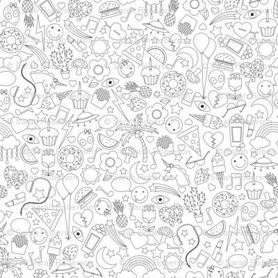 Doodle Print