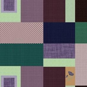 Parrish Palette Patchwork Quilt