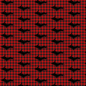 UP buffalo plaid check-ed-ed