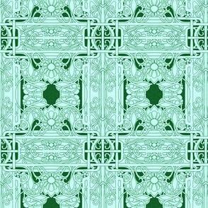 Green on Green Flowering Greenery