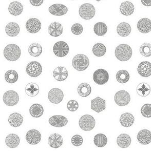Buttons - Line art passementerie