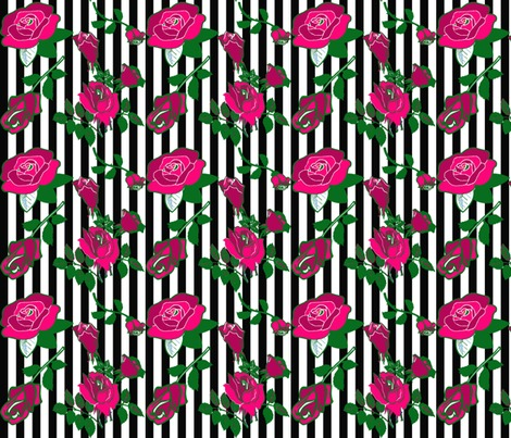 Rrrroses-pin-stripes-black-and-white_contest203329preview