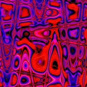 CD24 - Lava Lamp in Red - Pink - Blue