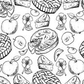 Apple sweets
