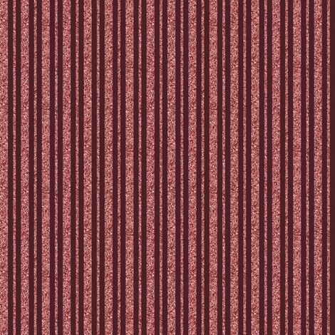CD27 - Tiny Sparkly Rosy Peach and Burgundy Stripe fabric by maryyx on Spoonflower - custom fabric