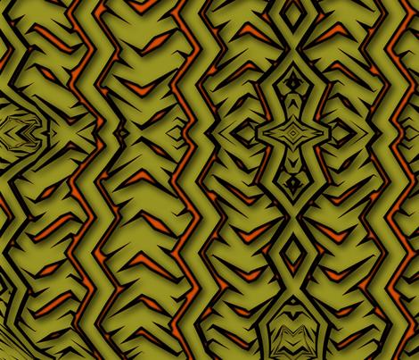 Mustard fabric by tucoshoppe on Spoonflower - custom fabric
