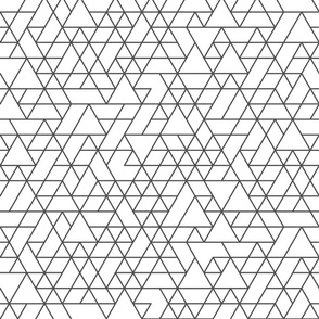 triangles pattern REV8-01