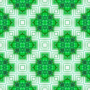 Rich Green Squares