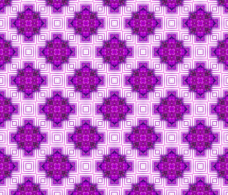 Vibrant Purple Squares fabric by just_meewowy_design on Spoonflower - custom fabric