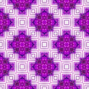 Vibrant Purple Squares