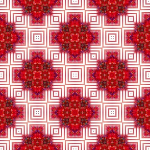 Rich Red Squares
