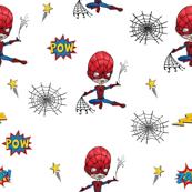 Super-cute-super-heroe Spider-man