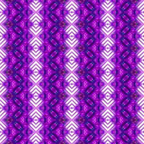 Rich Purple Striped Diamonds