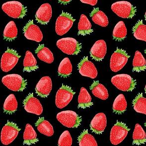 Summer Strawberries // Black