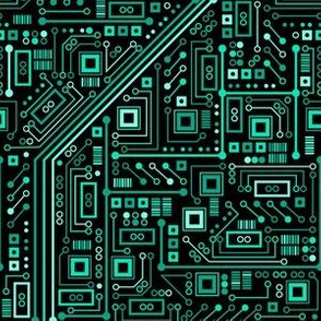 Short Circuits (Teal Small)