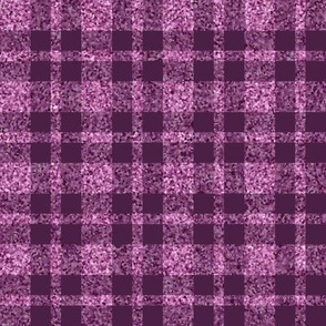 CD30 - Lilac-Orchid Sparkle and Eggplant  Purple Plaid