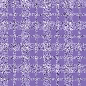 CD32  -  Lavender Sparkle Tartan Plaid