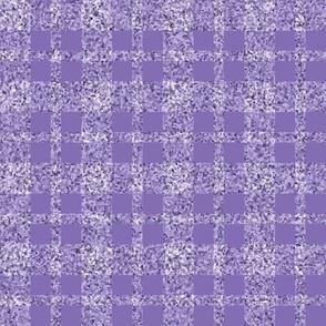 CD32  -  Lavender Sparkle Tartan Plaid