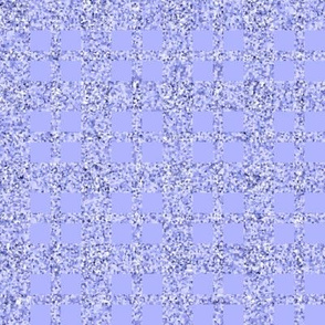 CD33 - Ice Princess Sparkly Periwinkle Plaid