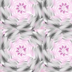 Grey & Pink Umbrella