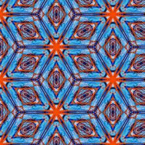 Bohemian turkish star mosaic