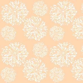 zinnia peach