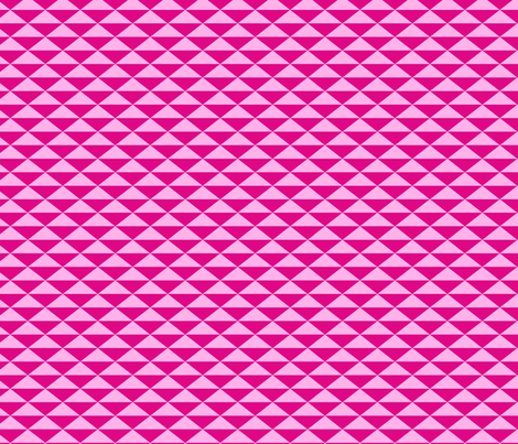 Triangles Pink fabric by pinkdeer on Spoonflower - custom fabric